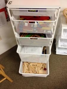 Lower School STEM cart